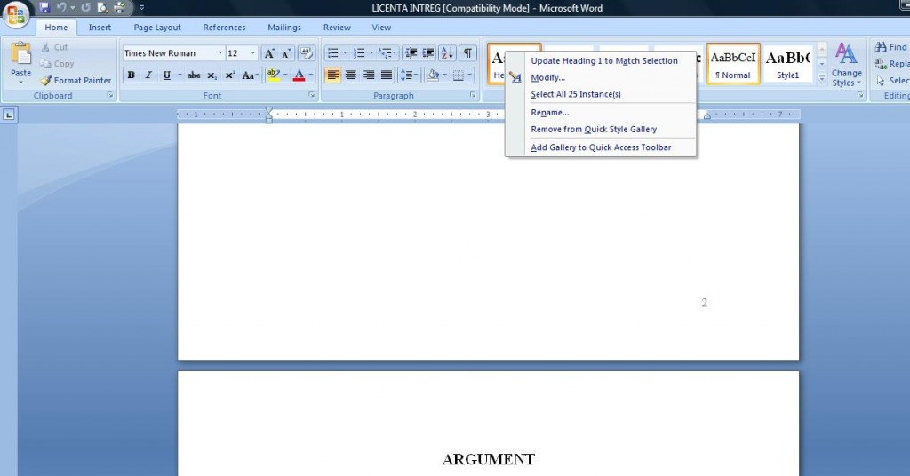 1 1024x536 Cum se genereaza automat cuprinsul in documentele Word
