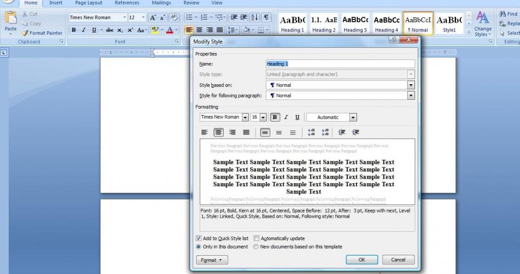 2 1023x540 Cum se genereaza automat cuprinsul in documentele Word