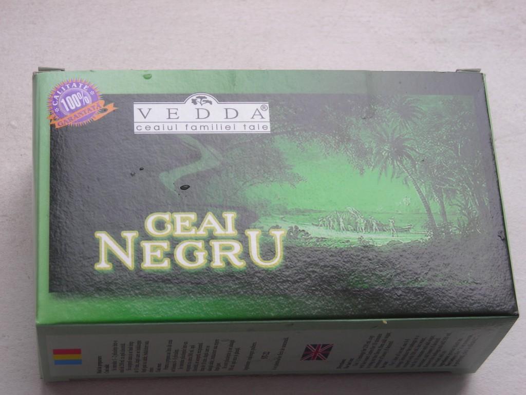 cutie ceai negru vedda