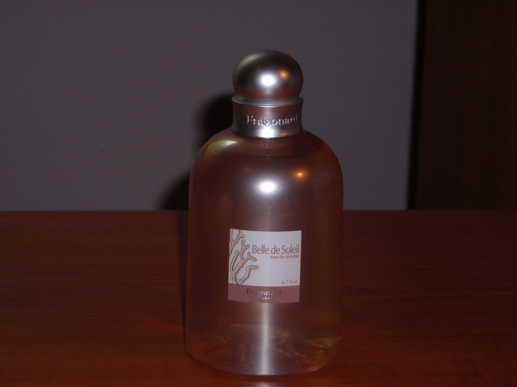 sticla parfum fragonard