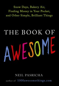 the book of awesome 205x300 The Book of Awesome   Neil Pasricha