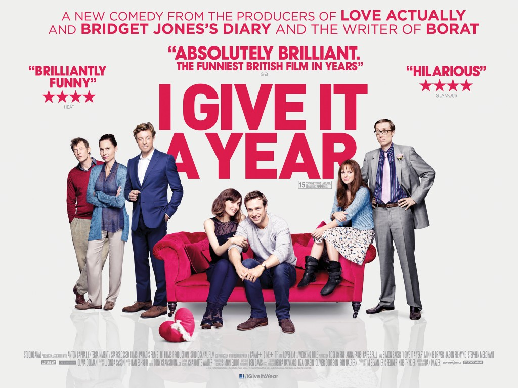 Quad poster 1024x768 I Give It a Year (2013)